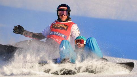 El donostiarra Lucas Eguibar, campeón del mundo de snowboard en la 'foto finish'