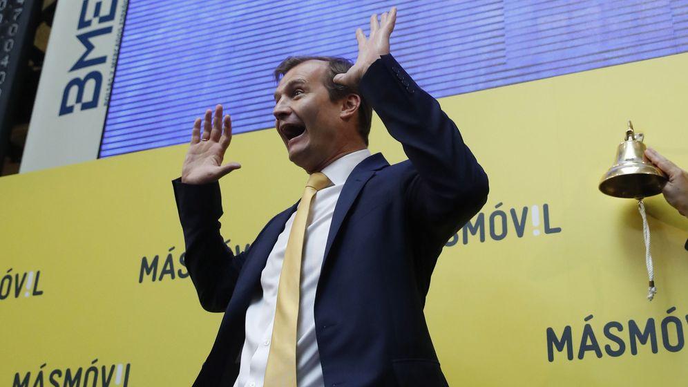 Foto: El consejero delegado de MásMóvil, Meinrad Spenger. (EFE)