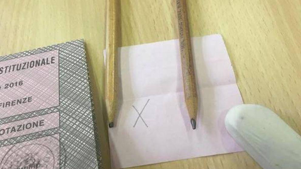 Polémica en el referéndum de Italia: denuncian el uso de lápices borrables
