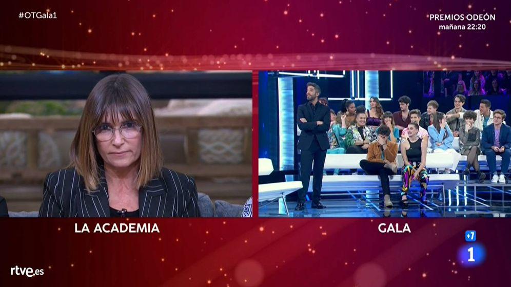 Foto: Noemí Galera y los concursantes de 'OT 2020'. (TVE)