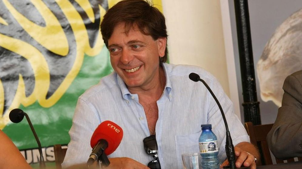 Foto: El director del festival, Filippo Giunta (Chloe Charbonnier / Rototom)