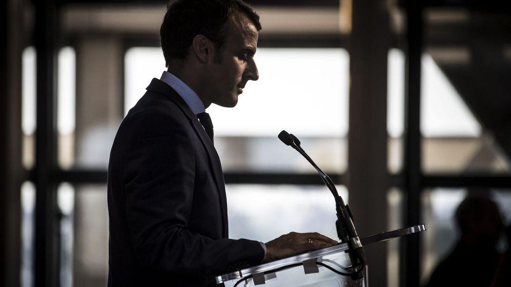 Foto: Emmanuel Macron, durante una rueda de prensa en el Ministerio de Finanzas, el 30 de agosto de 2016. (EFE)