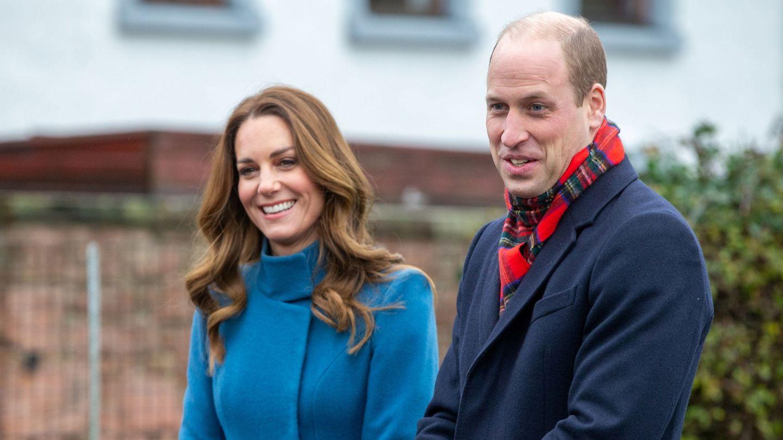 Guillermo y Kate, a principios de diciembre. (Reuters)