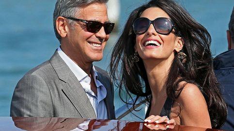 Amal Clooney vuelve a Venecia 5 años después de su boda, ¿vestida de novia?