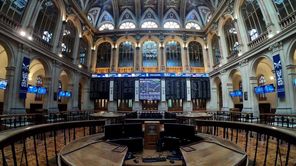 Foto: Palacio de la bolsa española (EFE)