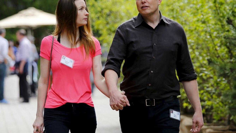 Foto: La actriz Talulah Riley y el empresario Elon Musk en una imagen de archivo (Reuters)