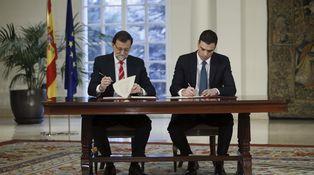 PP-PSOE, el pacto necesario pero imposible