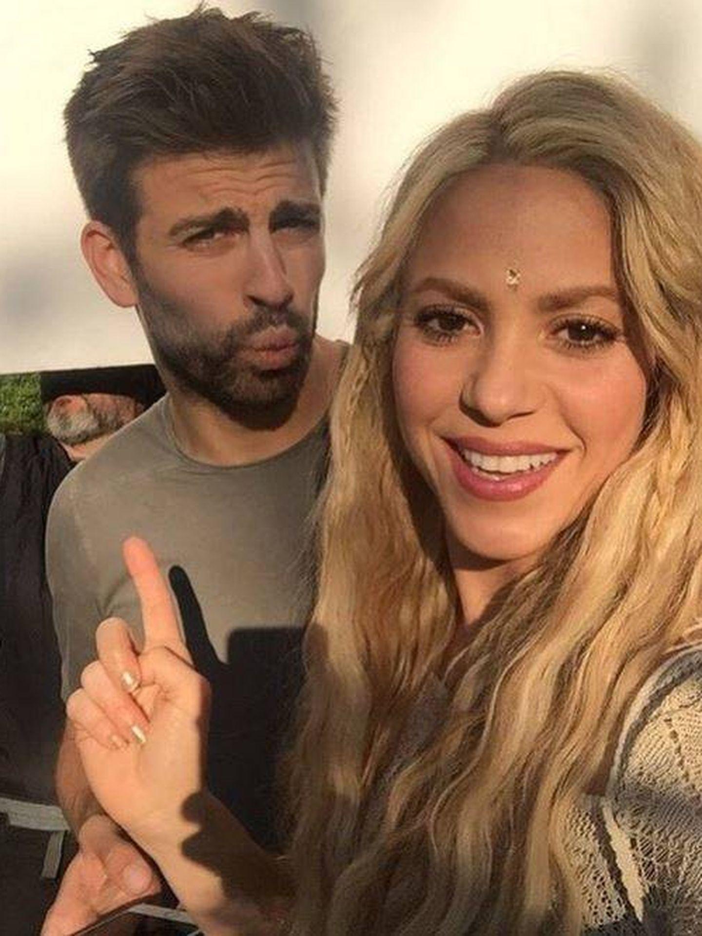 Shakira y Gerard Piqué. (Instagram)