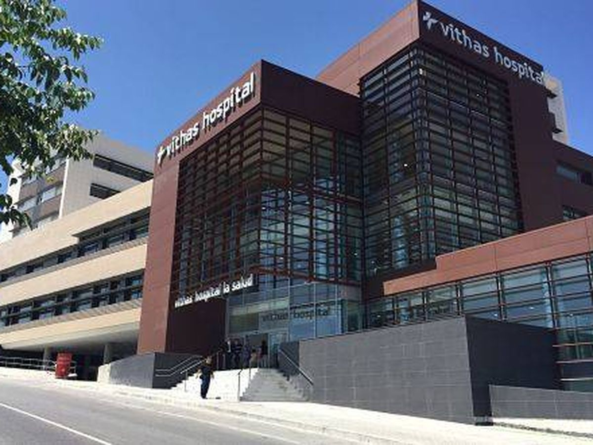 Foto: Un hospital privado en Granada.