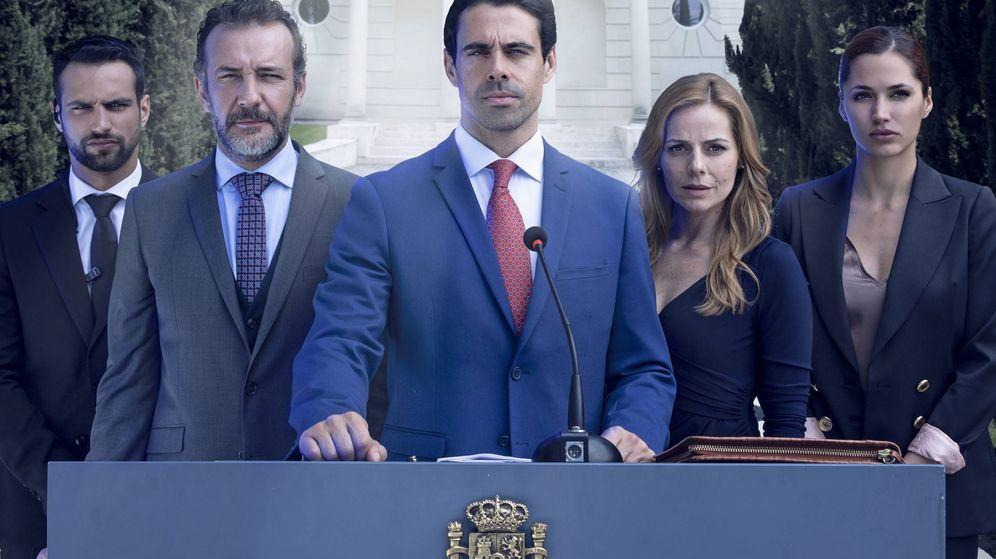 Foto: El elenco de 'Secretos de Estado'. (Telecinco)