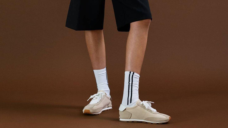Zapatillas Zara. (Cortesía)