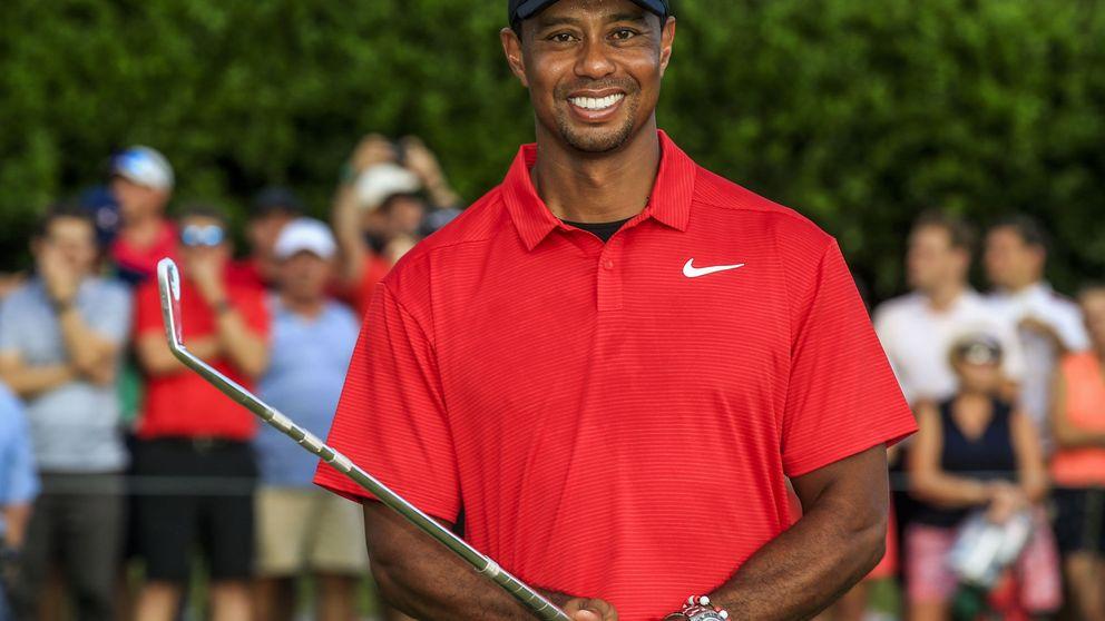 Tiger Woods ruge de nuevo: vuelve a ganar un título de golf cinco años después