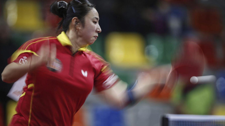 Cae Yanfei Shen en su debut, la última representante española en tenis de mesa