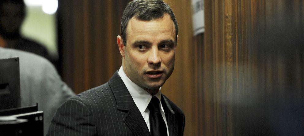 Foto: Oscar Pistorius en el tribunal durante uno de los juicios (Gtres)