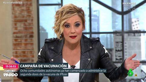 Cristina Pardo machaca a los alcaldes que se han vacunado antes de tiempo