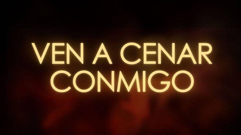 Foto: Logotipo del programa 'Ven a cenar conmigo'.