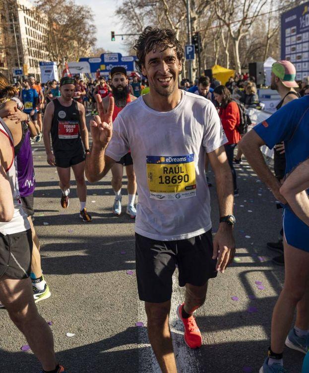 Foto: Raúl González en la eDreams Mitja Marató de Barcelona, el domingo. (Cortesía)
