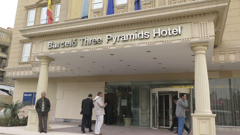 Fachada de un hotel de Barceló en Egipto. (EFE)