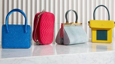 Geometría y color en tu mano con los bolsos del momento