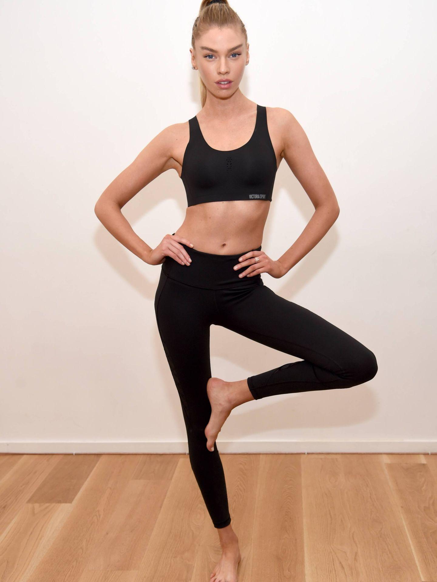 Stella Maxwell en una presentación de Victoria' Secret. (Getty)