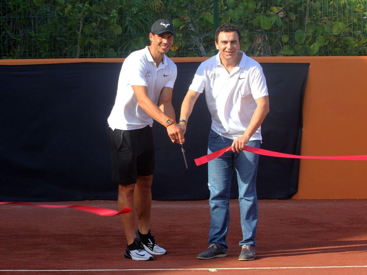 Foto: Rafael Nadal y Abel Matutes Prats. (EFE)