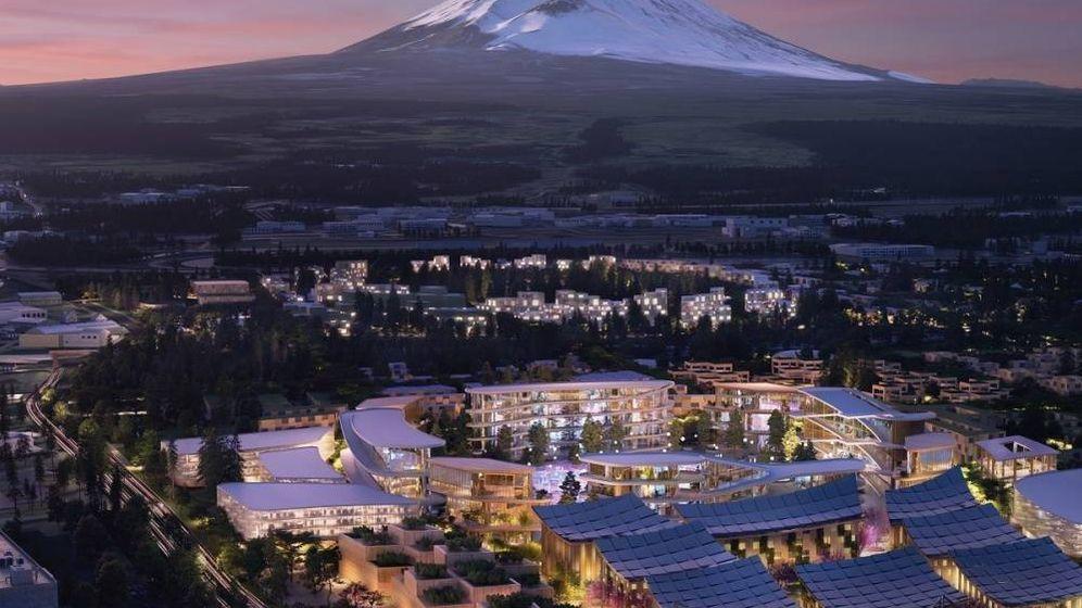 Foto: Proyección de la ciudad inteligente planeada por Toyota. (Bjarke Ingels Group)