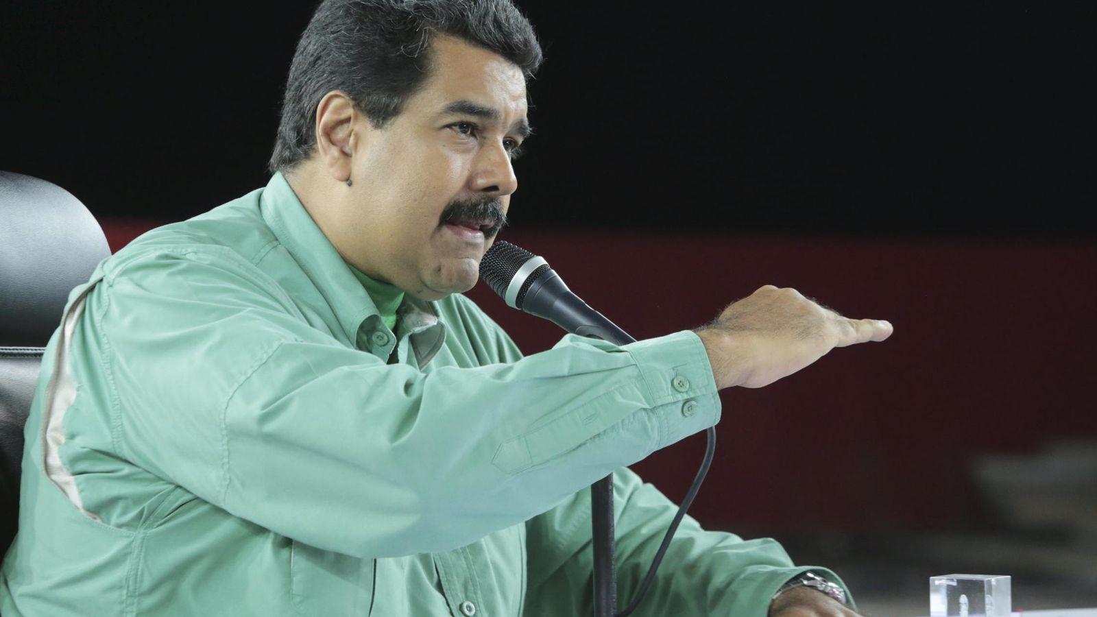 Foto: Maduro ha anunciado el cierre de la frontera de Venezuela con Colombia (Reuters)