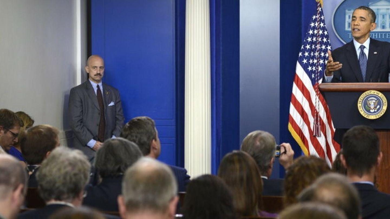Conferencia de prensa del presidente barack obama en washington