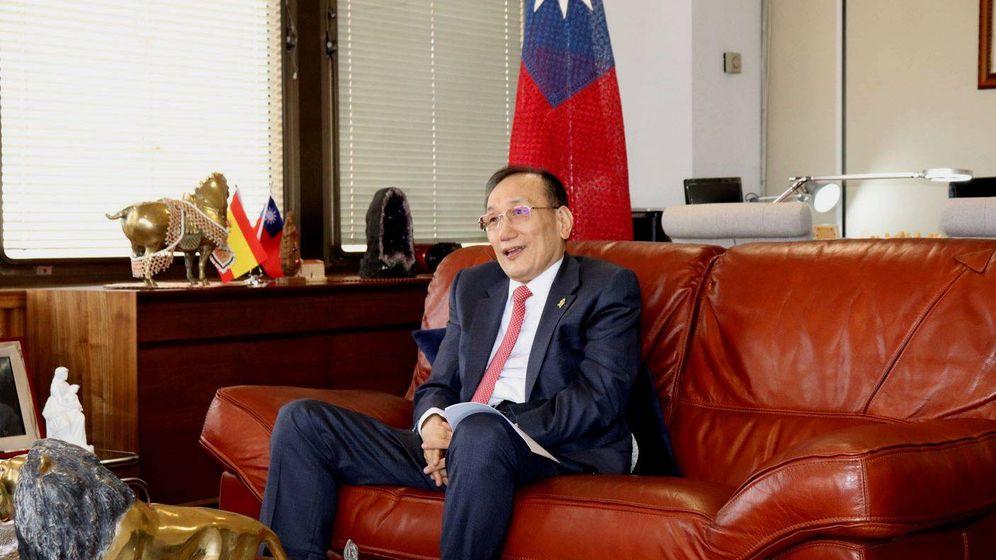 Foto: José María Liu, representante de Taiwán. (Oficina Económica y Cultural de Taipéi)