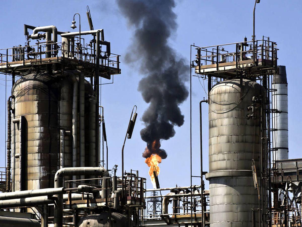 Foto: La refinería Al-Zour.