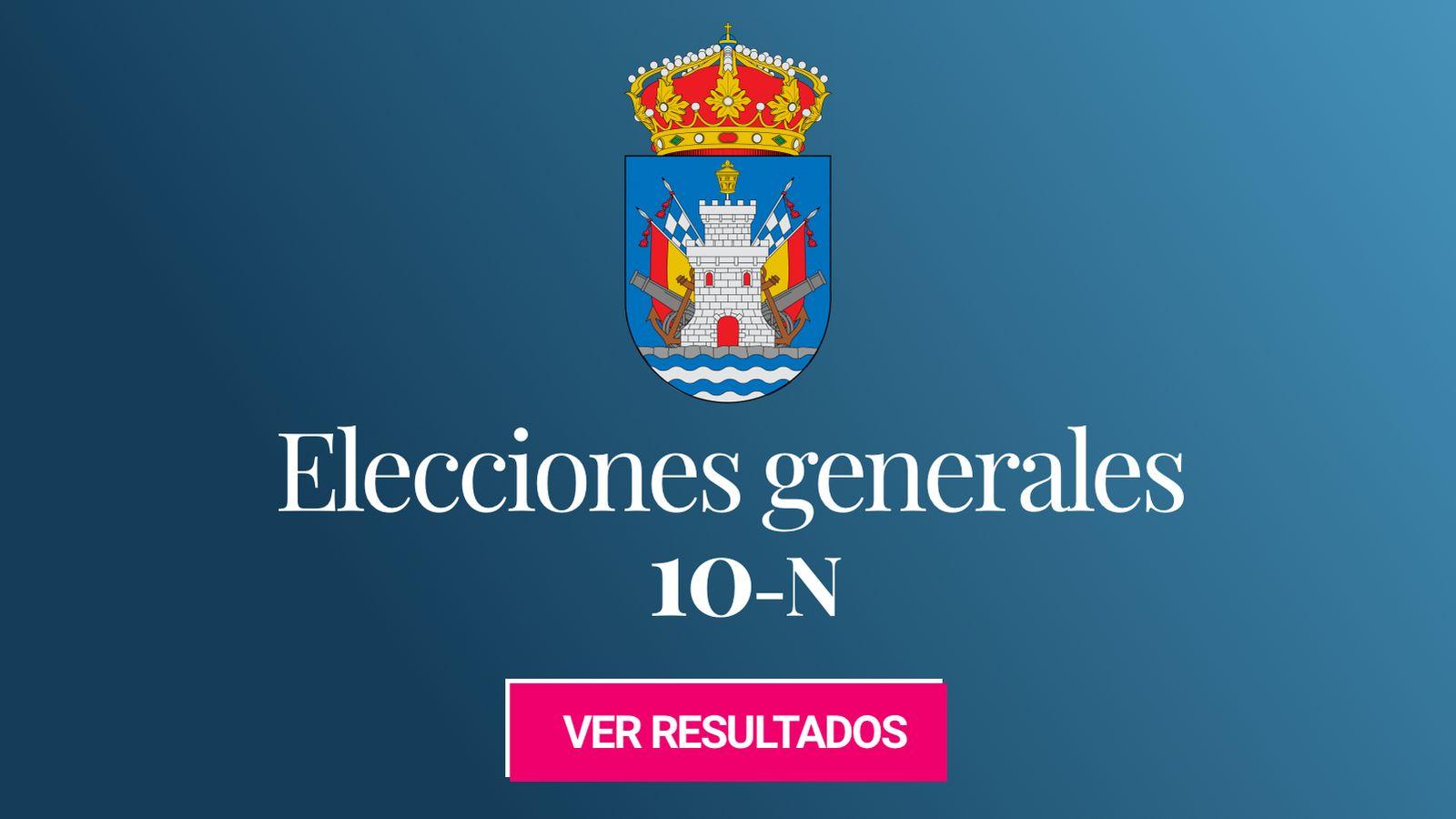 Foto: Elecciones generales 2019 en Ferrol. (C.C./EC)