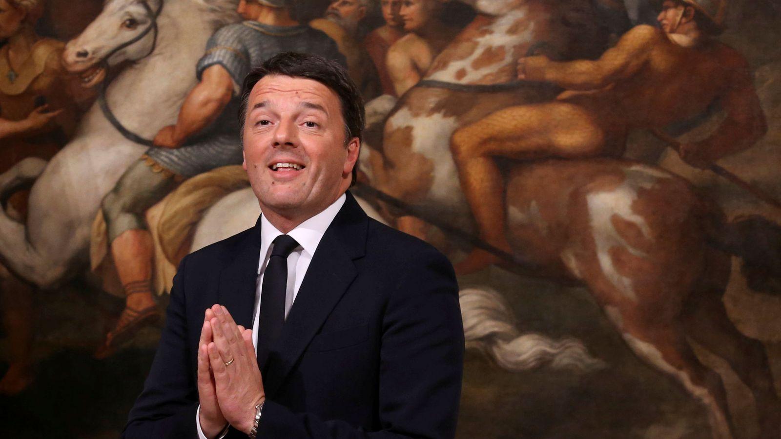 Foto: Matteo Renzi, ex primer ministro de Italia y candidato a un nuevo mandato. (Reuters)