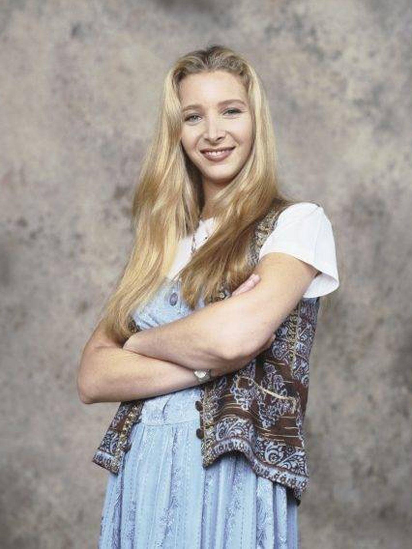 Lisa Kudrow, en la primera temporada de 'Friends'. (NBC)