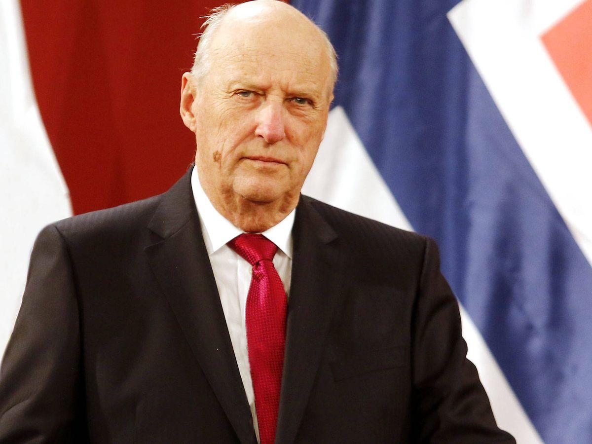 Foto: Harald de Noruega, en una imagen de archivo. (Getty)