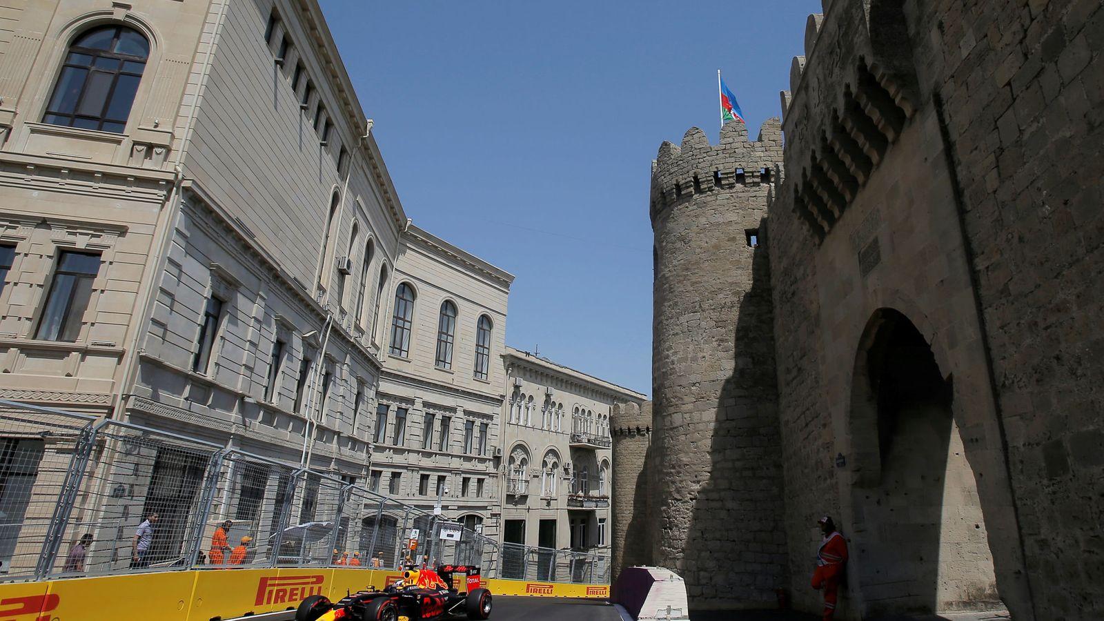 Circuito Urbano De Baku : Previa del gran premio de azerbaiyán vavel