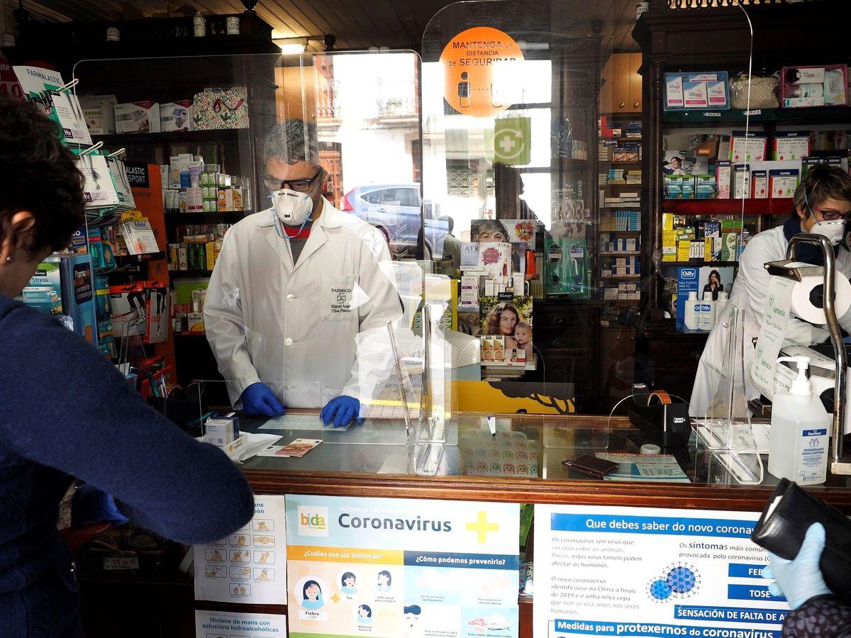 Foto: La Policía pone en marcha dispositivos de seguridad contra el robo en farmacias. (EFE)