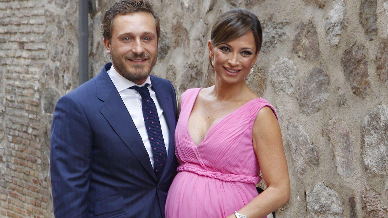 Foto: Juan Peña y Sonia González en la boda de Feliciano López y Alba Carrillo (Gtres)