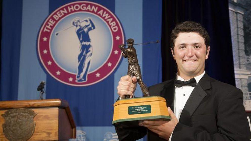 Rahm, ganador del Ben Hogan Award: Esto es como ganar el Balón de Oro