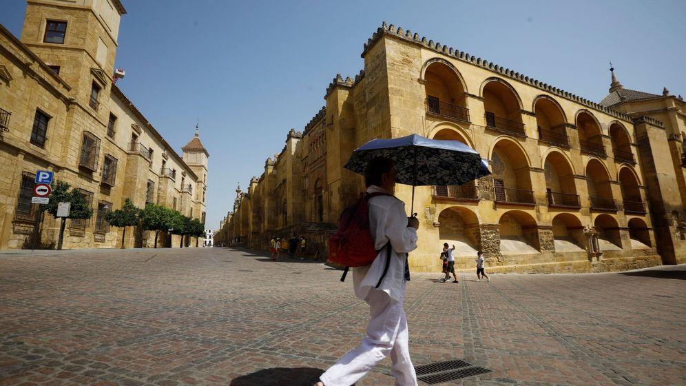 Foto: Ola de calor en Córdoba. (EFE)