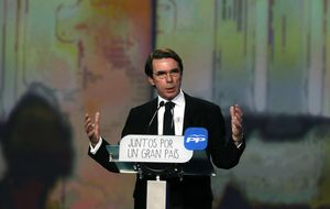 Aznar ficha a medio Ibex, al 'caído' Monzón o Vargas Llosa para su Instituto Atlántico