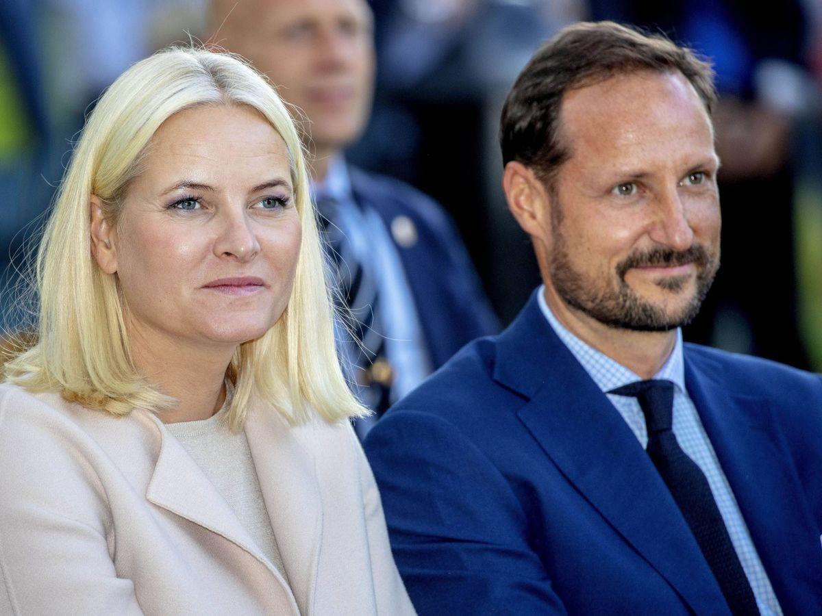 Foto: Mette-Marit y Haakon, en una imagen de archivo. (Cordon Press)