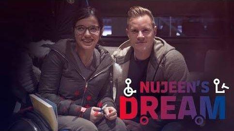 El sueño de Nujeen, la joven refugiada de la campaña de Navidad del Barcelona