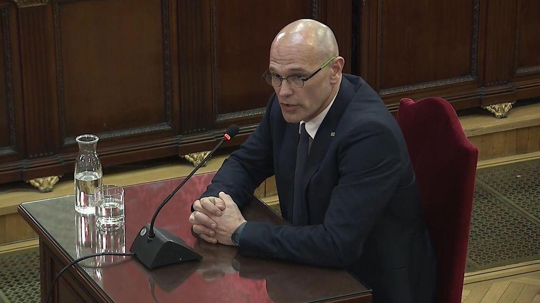 Cuarta sesión del juicio al 'procés': así fueron las declaraciones de Turull y Romeva