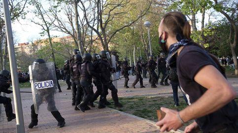 Disturbios en el mitin de Vox en Vallecas