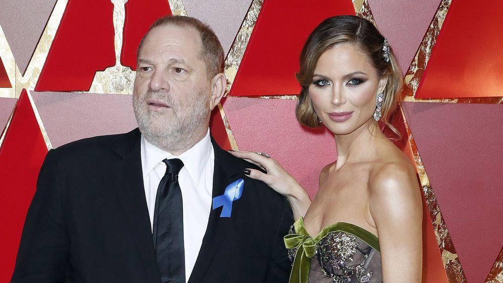 Foto: Harvey Weinstein junto a su mujer Georgina Chapman. (EFE)