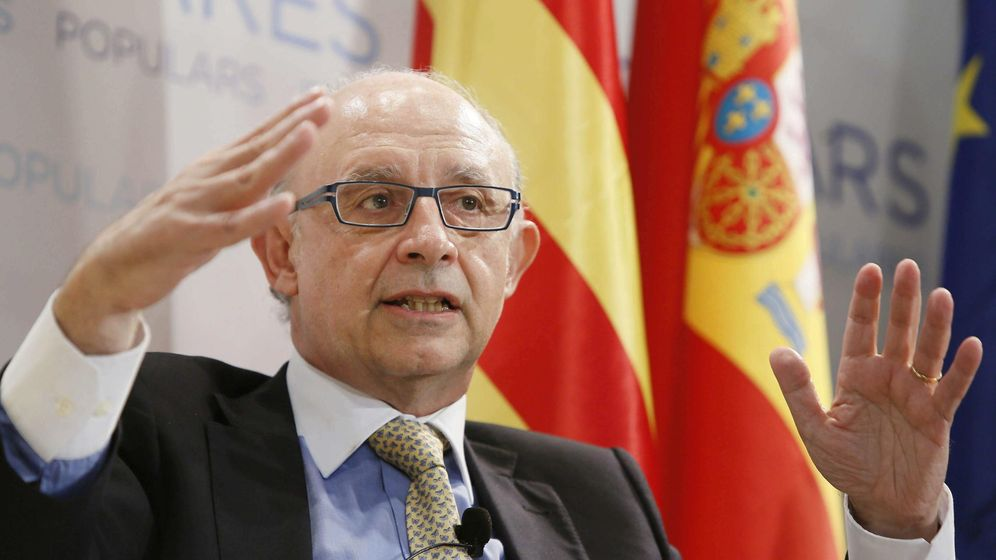 Foto: Cristóbal Montoro, en una imagen de archivo. (Efe)