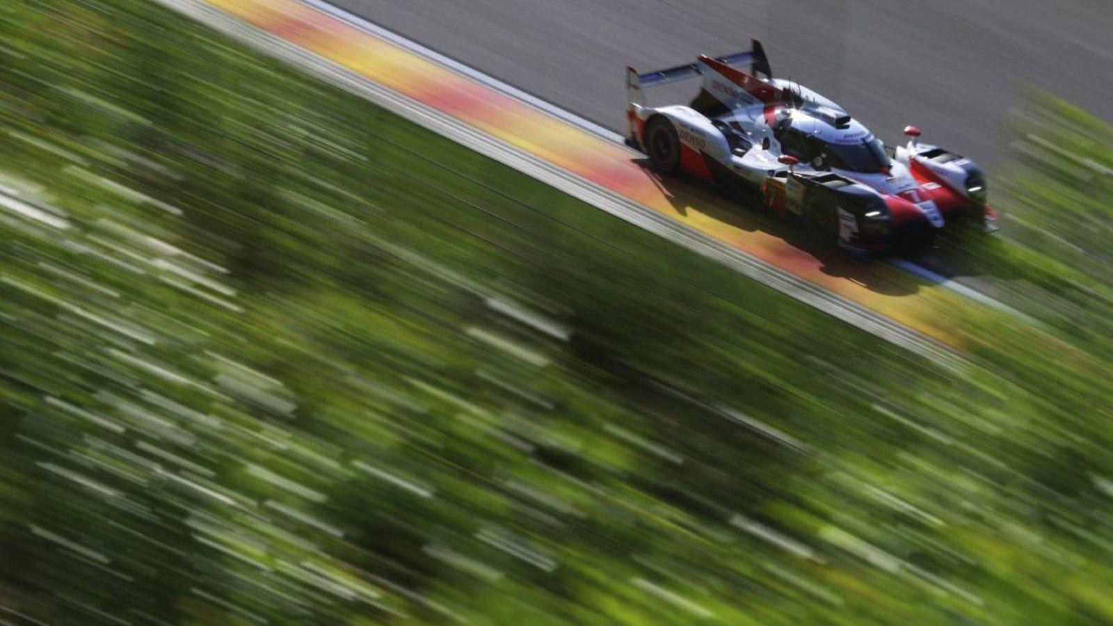 WEC: Alonso se emplea a fondo en el WEC: Es una máquina más compleja ...