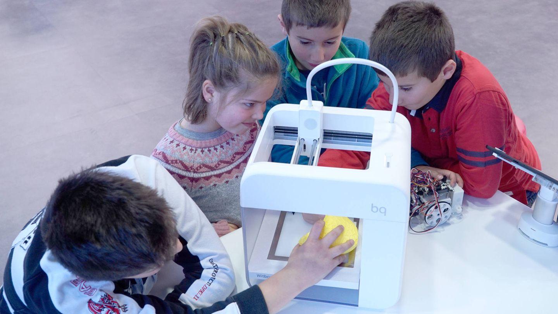 Robótica, impresión 3D o realidad virtual son algunas de las tecnologías con las que aprenden los niños.