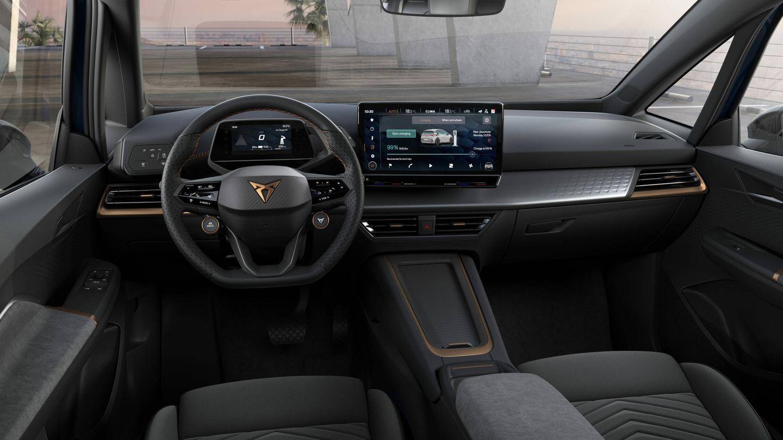 El coche es capaz de cargar 100 kilómetros extra de autonomía en tan solo 8 minutos en un cargador de 120 kW.