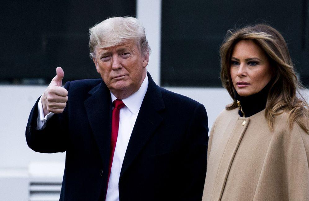 Foto: Donald Trump y Melania Trump. (Reuters)